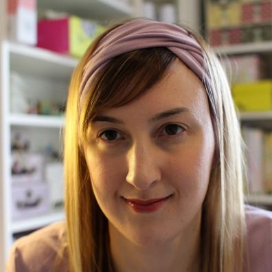 @sewingforthesoul's turband headband- great for yoga